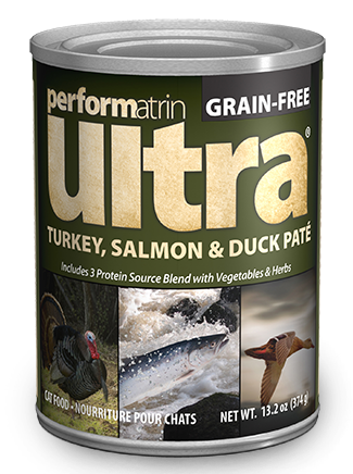 Performatrin Ultra ® Turkey, Salmon & Duck Pâté Cat Food