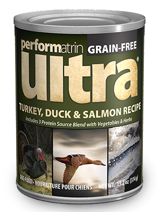 Performatrin Ultra ® Turkey, Duck & Salmon Recipe Dog Food