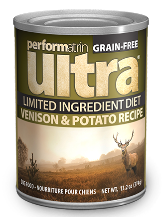 Performatrin Ultra Limited ™ Ingredient Diet Venison & Potato Recipe Dog Food