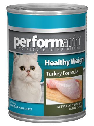 Performatrin ® Healthy Weight Turkey Formula Cat Food