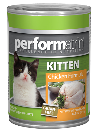 Performatrin ® Kitten Grain-Free Chicken Formula Cat Food