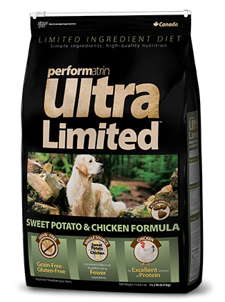 Performatrin Ultra Limited™ Sweet Potato & Chicken Formula Dog Food