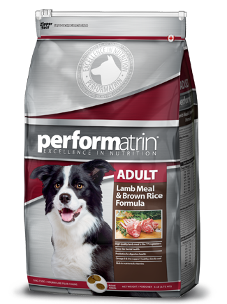 Performatrin ® Adult Lamb Meal & Brown Rice Formula Dog Food